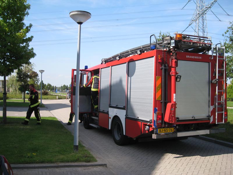 PRIO 1 : 642 .RIBW MARCEL DUCHAMPSTRAAT 78 A-F ALMERE 1328JC OMS ALARM