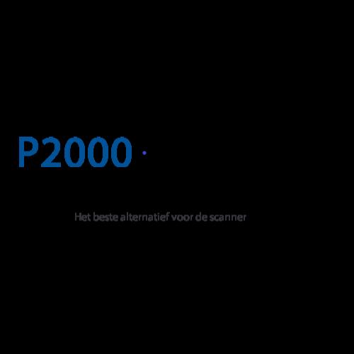 P 2000 Nhn.P2000 Monitor P2000 Regio Noord Holland Noord